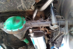 Jeep Wrangler 2,5 -Nerez tlumič + trubka s koncovkou